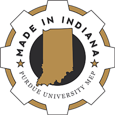Made in Indiana Badge