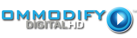 OMMODIFY Digital HD Logo
