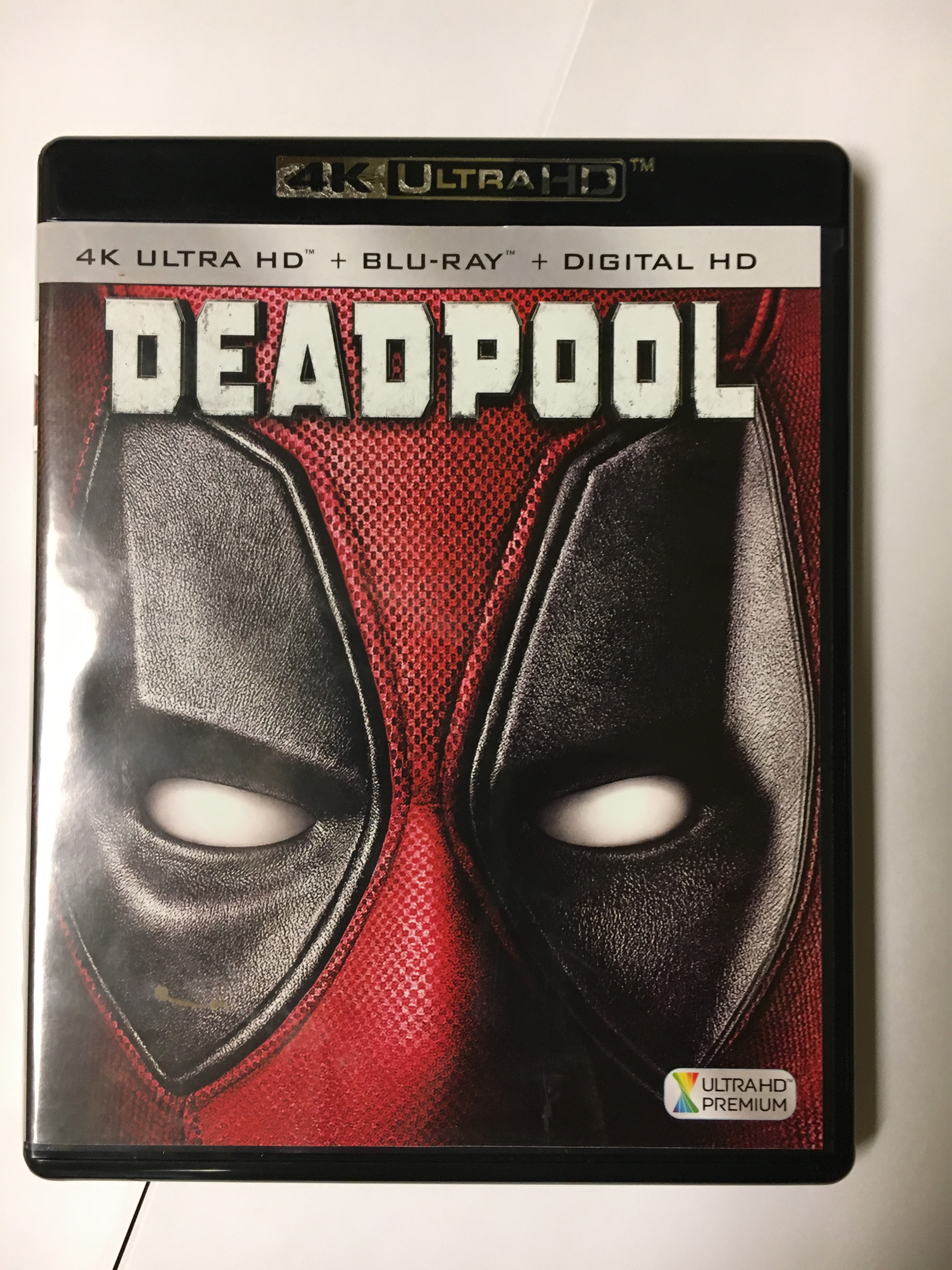 Deadpool - Get 4K UHD Disc Replication by OMM