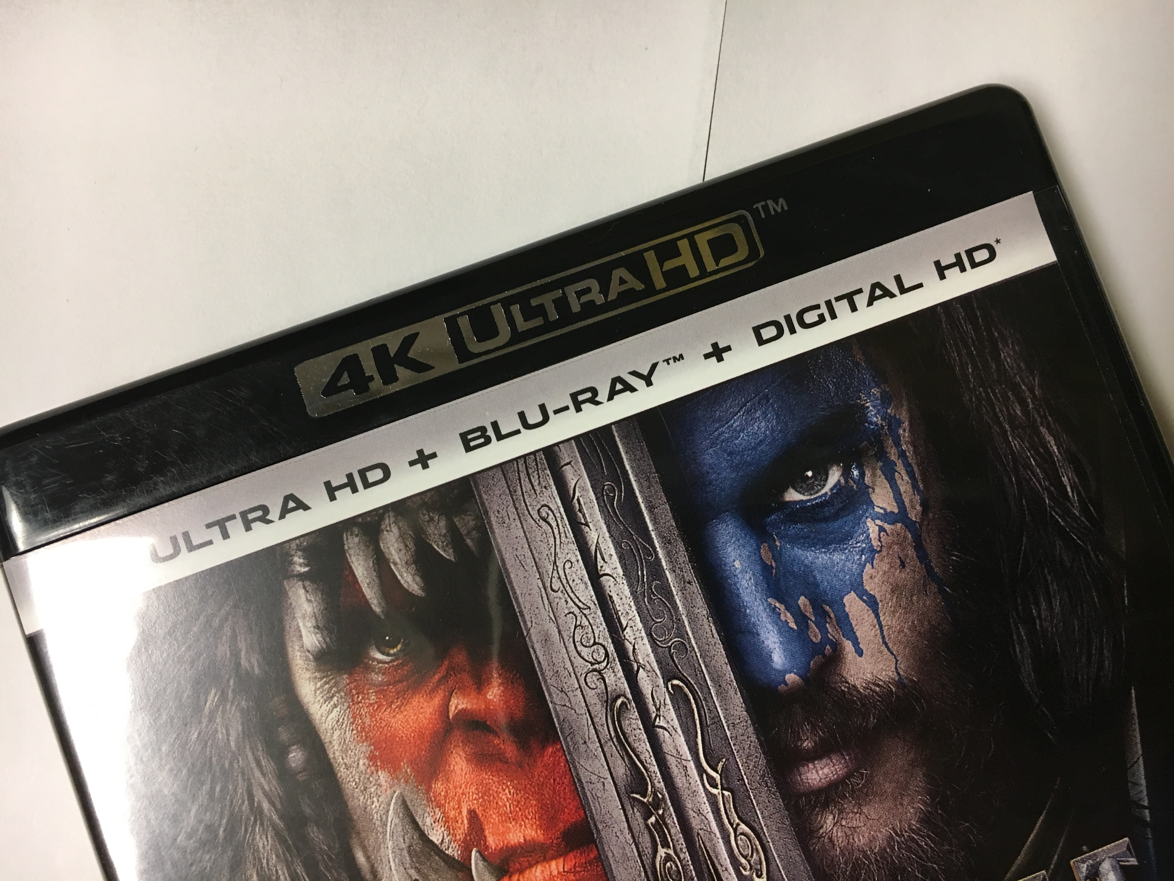 Warcraft 4K Disc - 4K UHD Disc Replication at Affordable Price