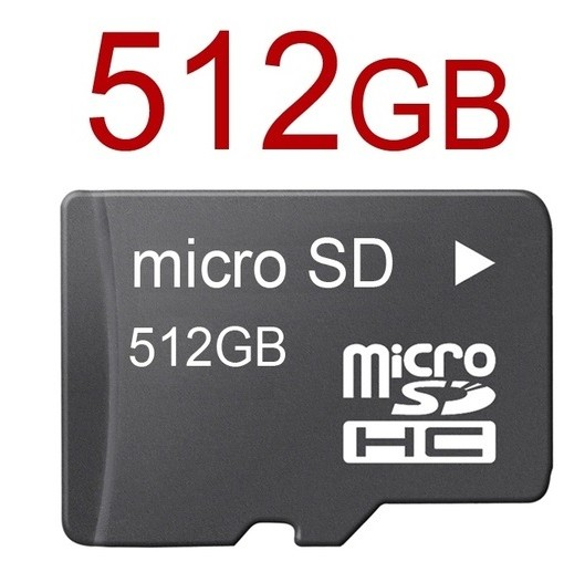 512GB SD Card - USB / Flash / Web Example