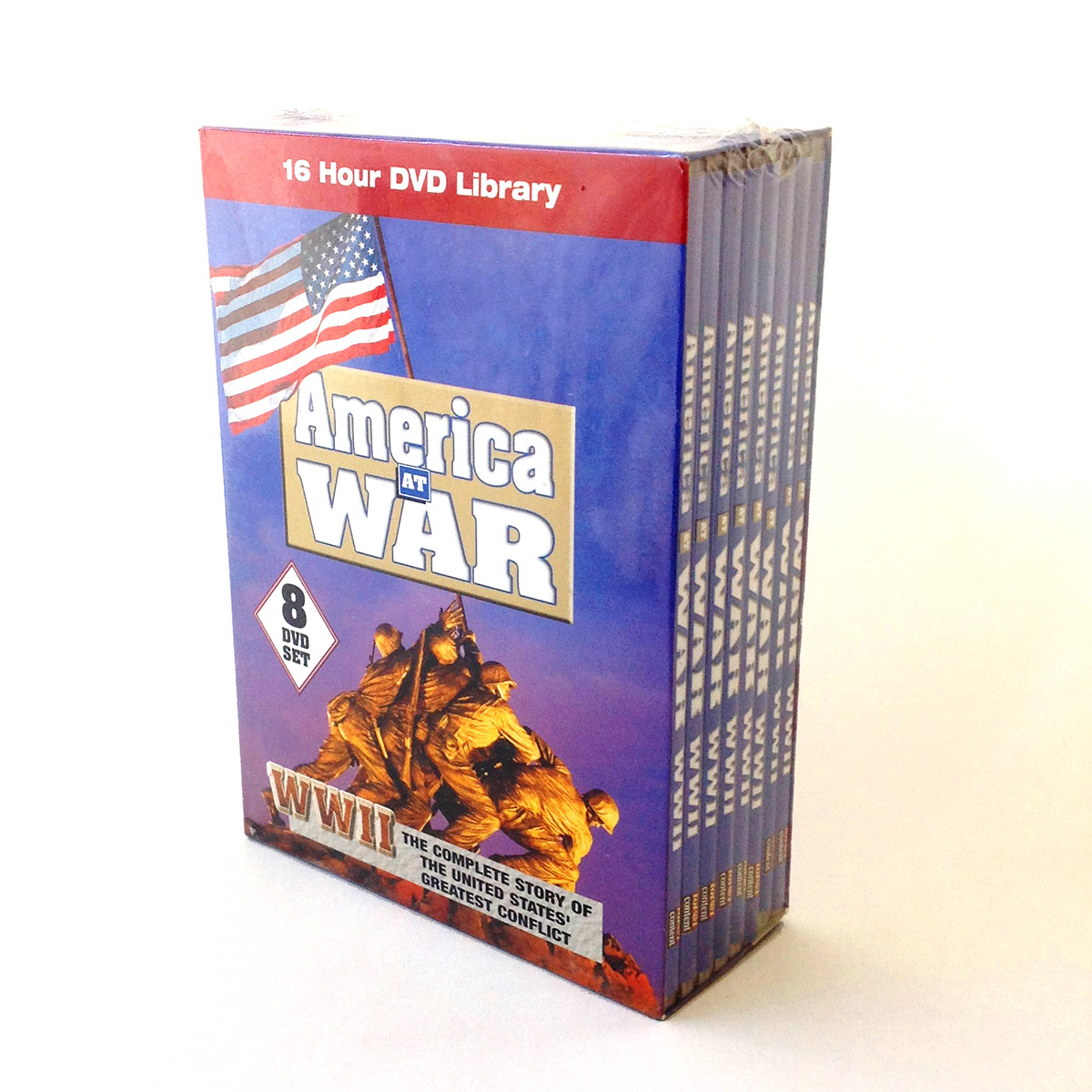 America at War - DVD Replication Example