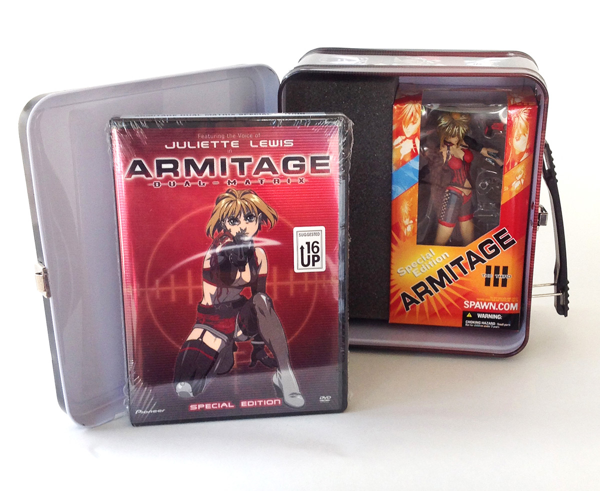 Armitage Lunch Box Packaging