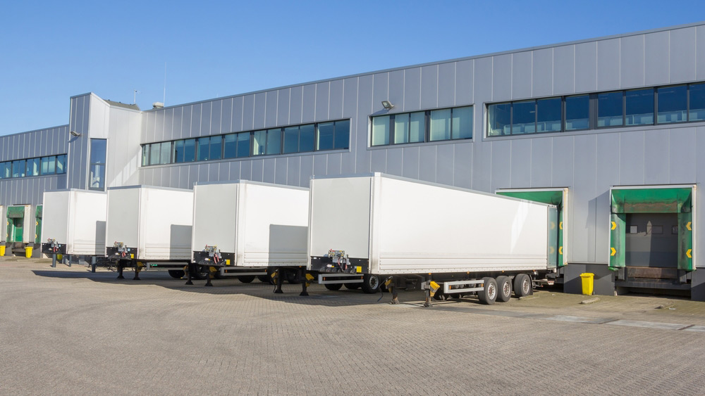 Truck Bays for Media Fulfillment by OMM