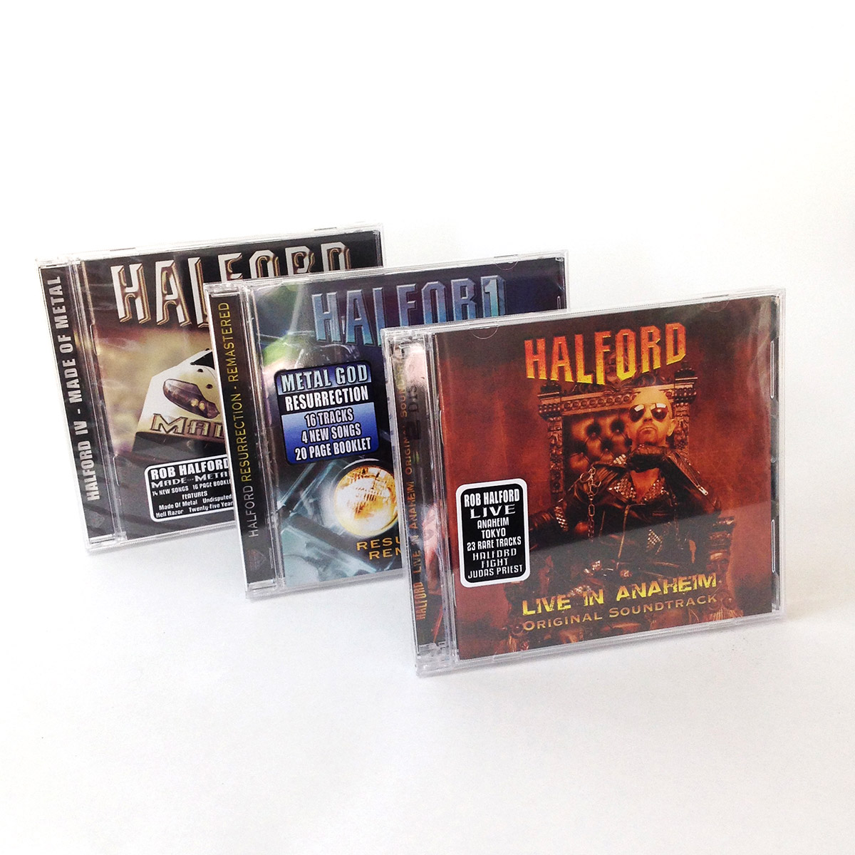 Halford CD Jewel Cases