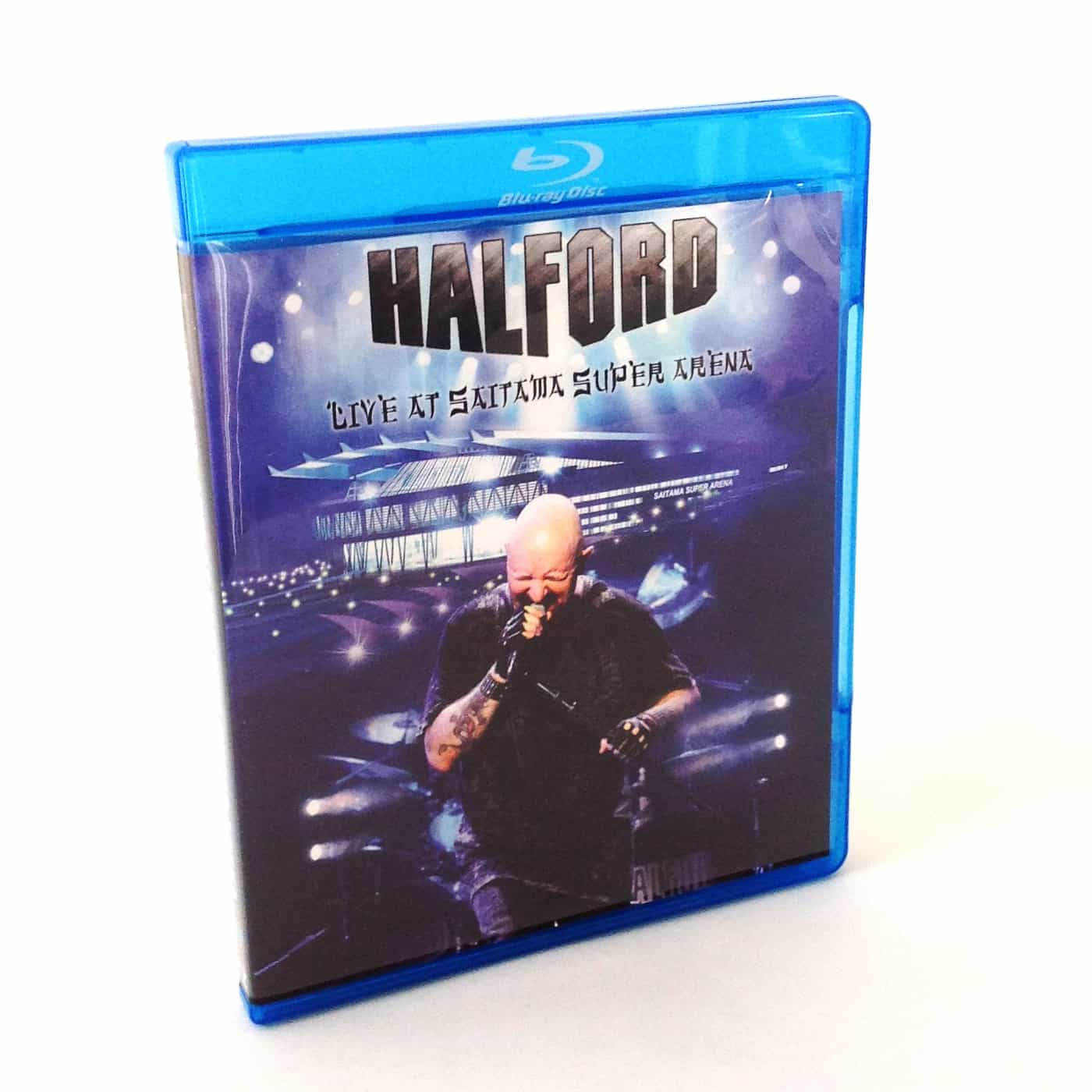 Halford Blu Ray Disc Replication by OMM