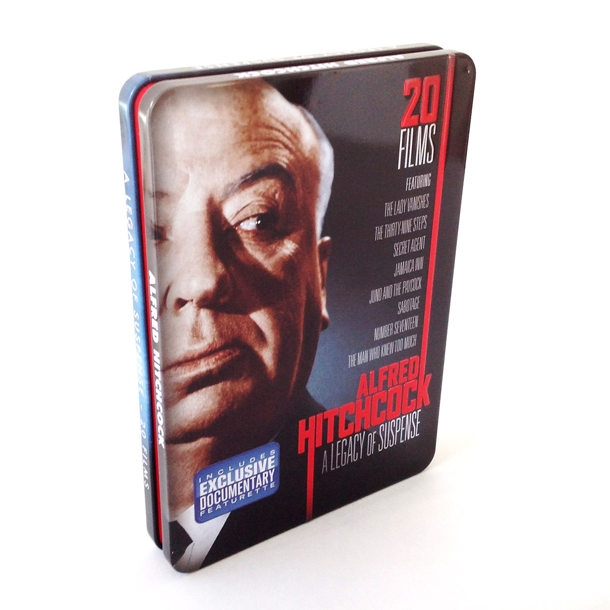 Hitchcock Tin - DVD Replication by OMM