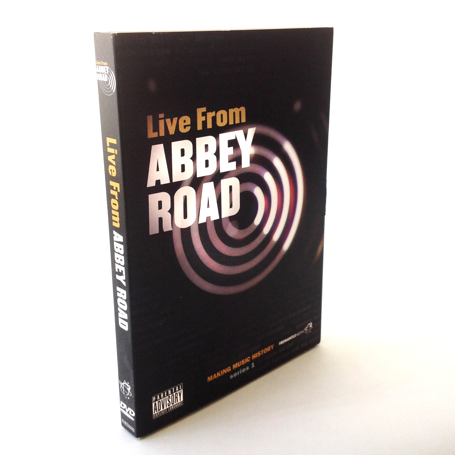 Live from Abbey Road - DVD Replication Packages by OMM