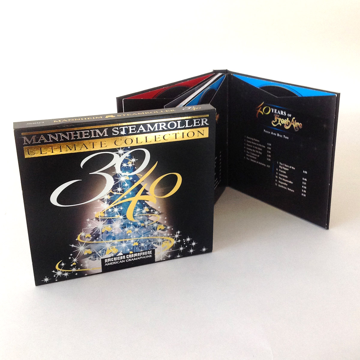 Mannheim Steamroller Ultimate Collection - DVD Replication