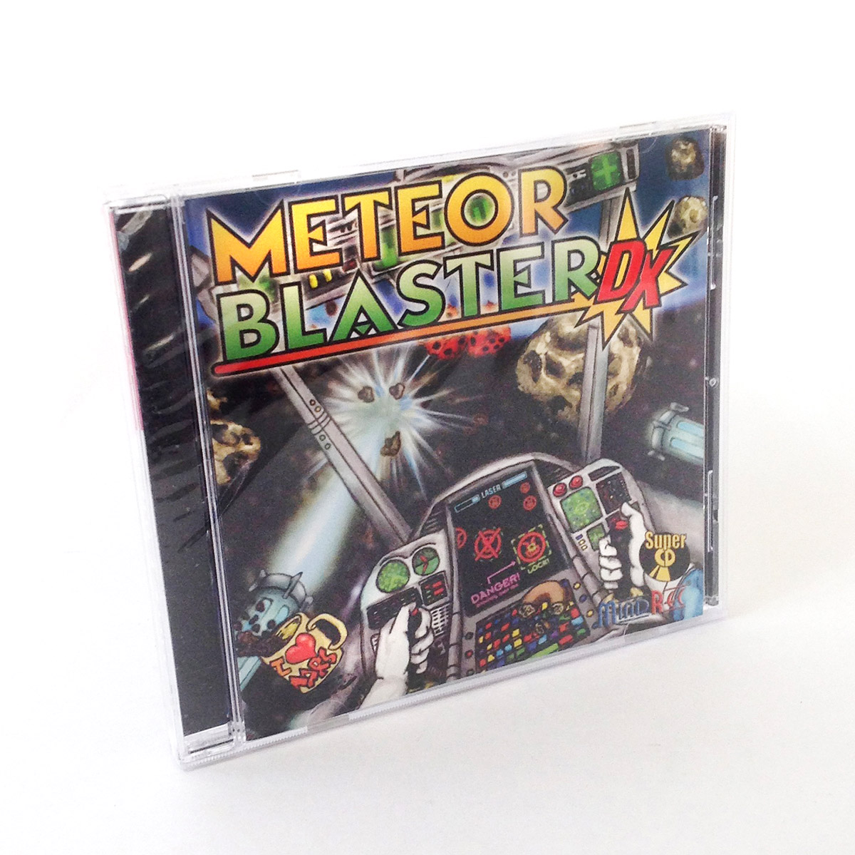 Meteor Blaster DX CD Jewel Case