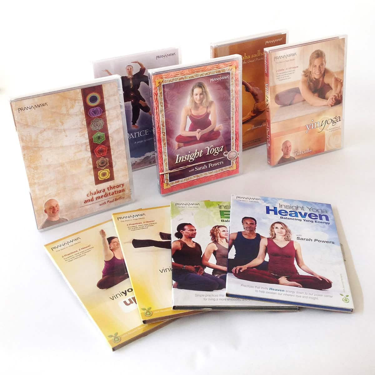 Yoga DVD Replication by OMM