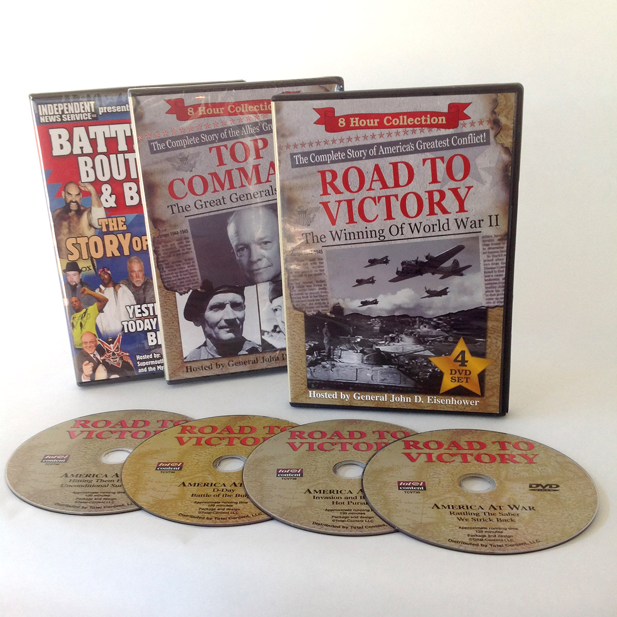 Road to Victory - Best DVD Replication Company