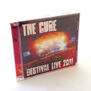 The Cure Double CD Jewel Case