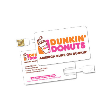 Dunkin Donuts - USB / Flash / Web Example