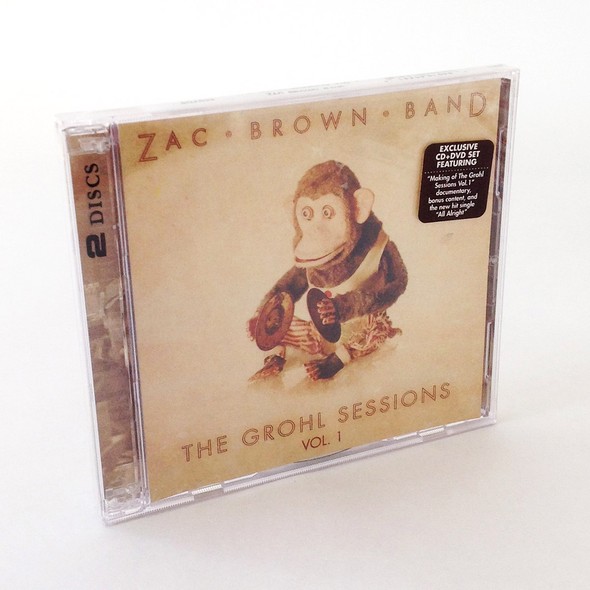Zac Brown Band Double CD Jewel Case