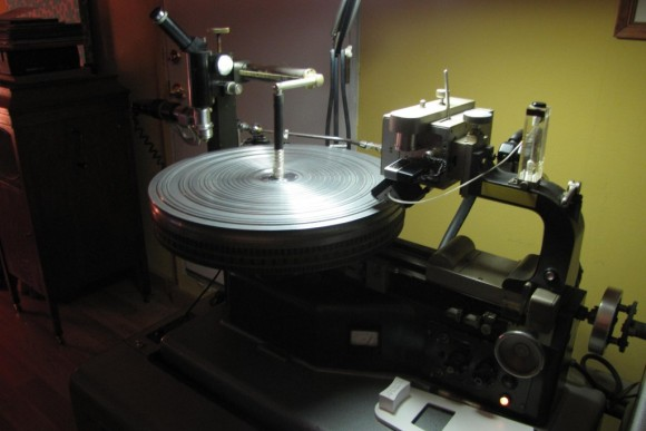 Showing Record - LP Vinyl Pressing Example